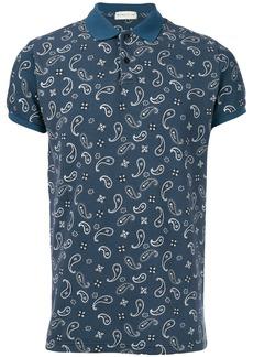 Etro paisley polo shirt - Blue