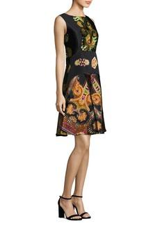 Etro Paisley-Print A-Line Dress