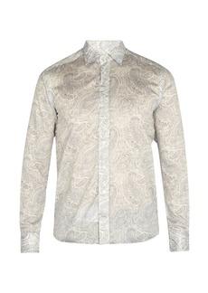 Etro Paisley-print cotton shirt