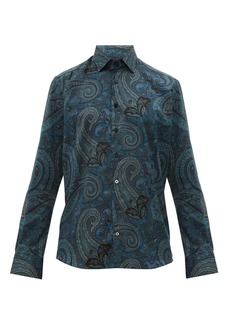 Etro Paisley-print cotton shirt