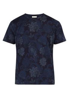 Etro Paisley-print cotton T-shirt