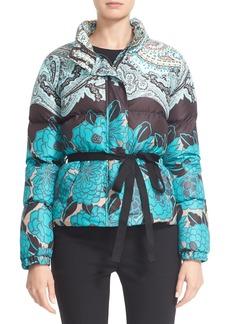 Etro Paisley Print Down Puffer Jacket