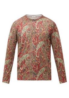 Etro Paisley-print silk-blend sweater