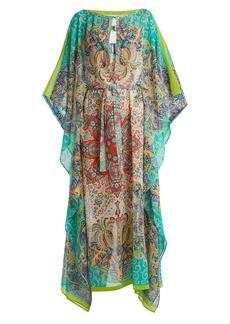 Etro Paisley-print silk kaftan
