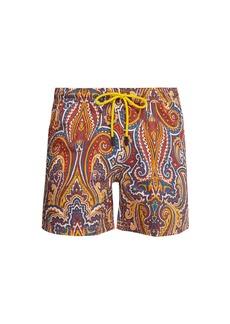 Etro Paisley-print swim shorts