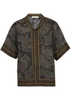 Etro Paisley-print voile shirt