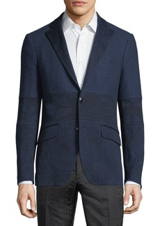 Etro Patched Jacquard Jacket