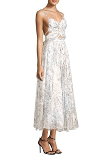 Etro Pearl Floral Dress