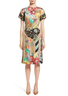 Etro Pillar Paisley Print Dress