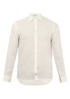 Etro Point-collar relaxed shirt