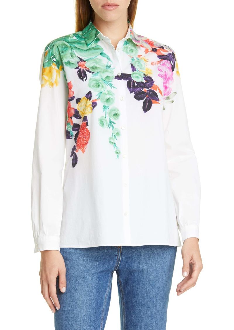 Etro Pop Floral Print Shirt