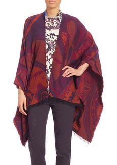 Etro Printed Knit Wrap