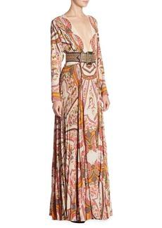 Etro Reversible Maxi Dress