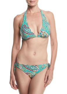 Reversible Printed Bikini Swim Set