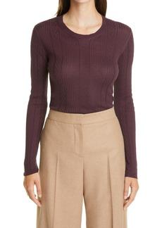 Etro Rib Silk Blend Sweater