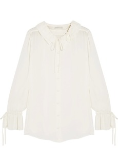 Etro Ruffled silk blouse