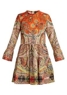 Etro Sagittario floraand paisley-print cotton dress