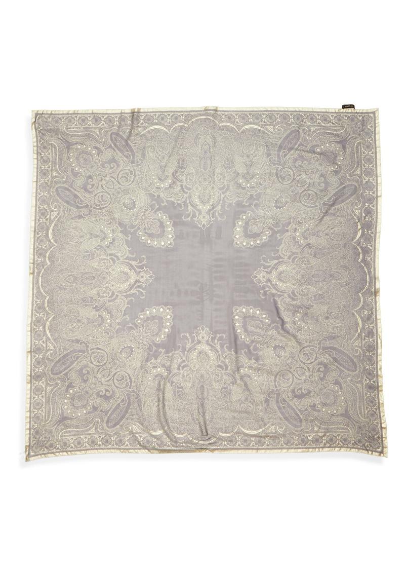 Etro Scialle Bombay Silk Scarf