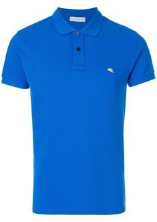 Etro short sleeve polo shirt - Blue