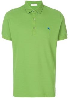 Etro short sleeve polo shirt - Green