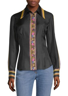 Etro Silk Button-Down Shirt