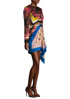 Etro Silk Gathered Dress