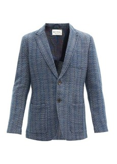 Etro Single-breasted knitted blazer