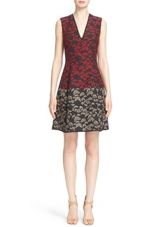 Etro Sleeveless V-Neck Sheath Dress