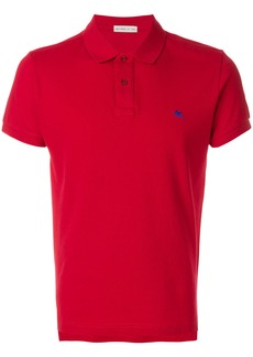 Etro slim fit polo shirt - Red