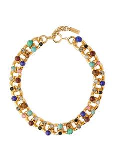 Etro Stone-charm & chain necklace