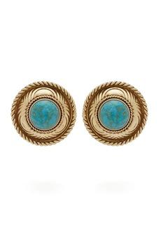 Etro Stone-embellished stud earrings
