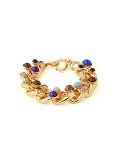 Etro Stone-stud chain-link bracelet