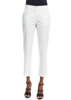 Etro Straight-Leg Capri Pants