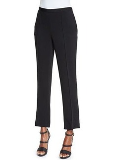 Etro Straight-Leg Cropped Pants