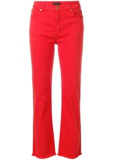 Etro straight leg jeans - Red