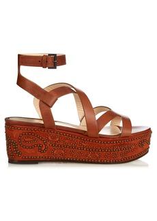 Etro Stud-embellished flatform sandals