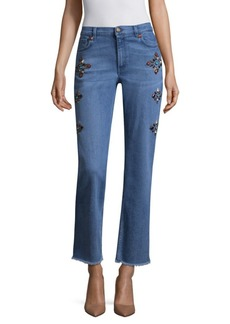 Etro Studded Flare Jeans