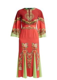Etro Taico printed crepe dress
