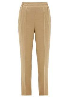 Etro Tapered-leg ottoman trousers