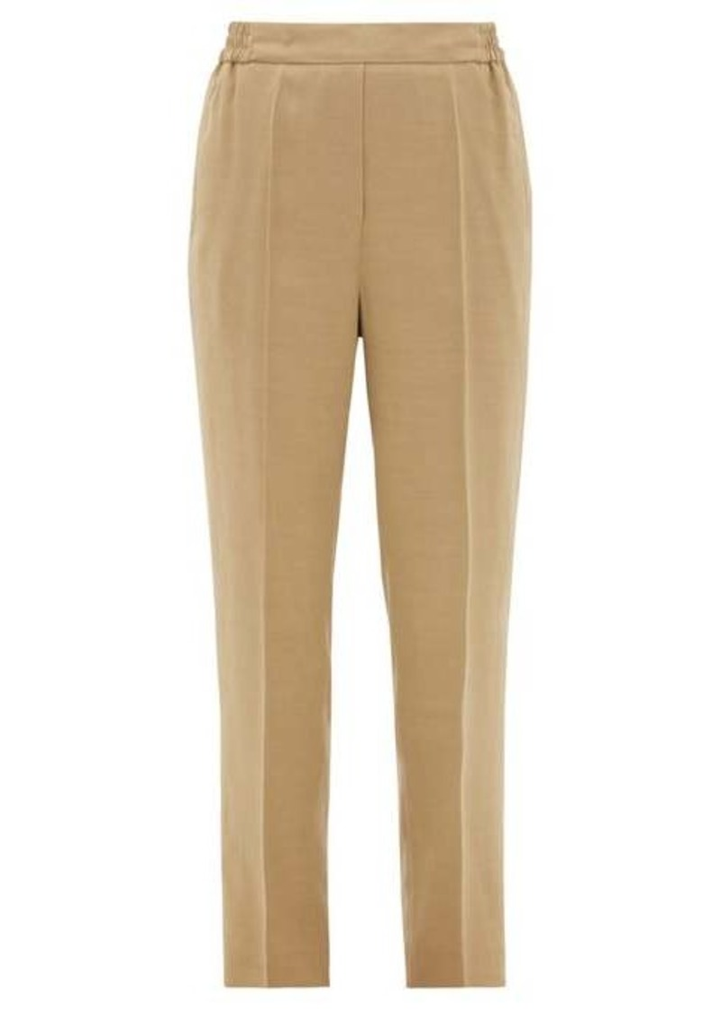 Etro Tapered-leg ottoman trousers