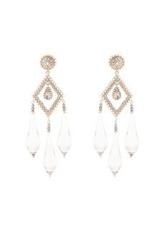 Etro Teardrop clip-on earrings