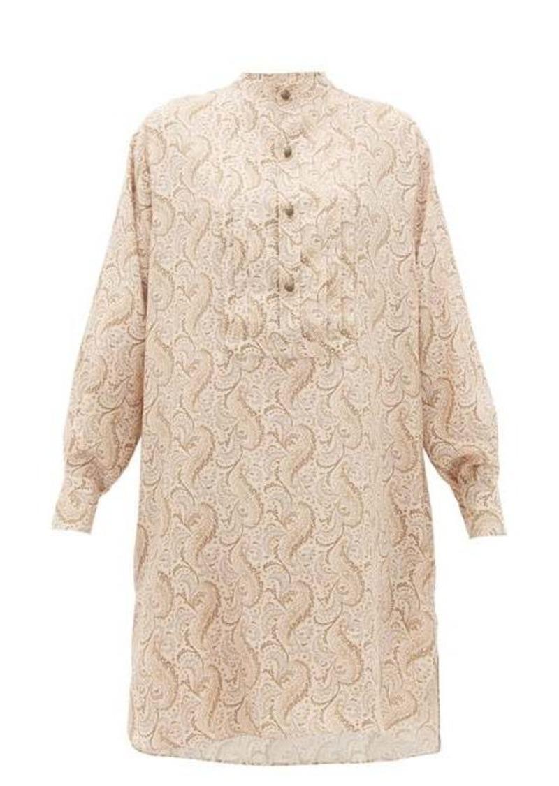 Etro Tiare paisley-print silk-satin dress