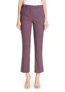 Etro Tile Pattern Jacquard Pants