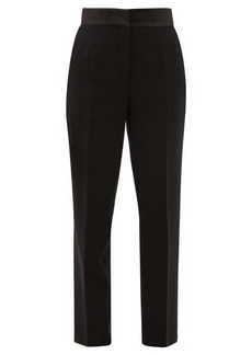 Etro Torbay high-rise wool tapered trousers