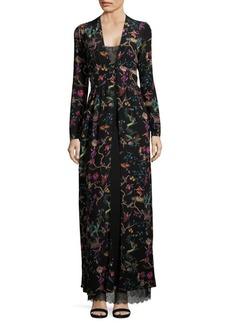 Etro Two-Piece Silk Gown
