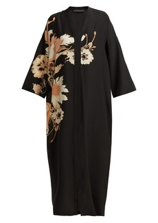 Etro Ursula floral-print silk-crepe dress