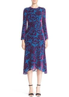 Etro Velvet Midi Dress