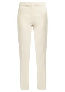 Etro Violante slim-leg stretch-cady trousers