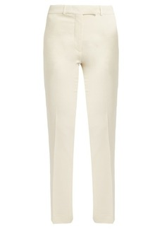 Etro Violante slim-leg stretch-cady trousers