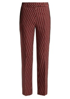 Etro Violante slim-leg stretch-wool trousers